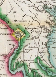 Washington Baltimore Area - 1814